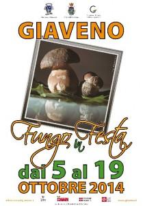 Fungo in Festa Giaveno - Il Manifesto 2014