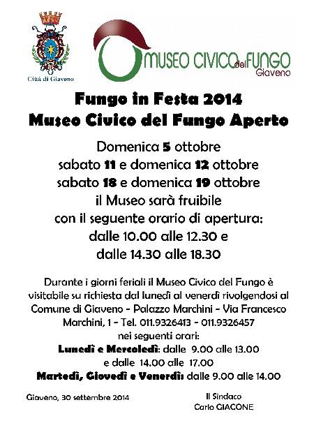 Museo Civico del Fungo Giaveno