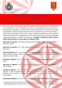 Locandina sportello francoprovenzale 2015