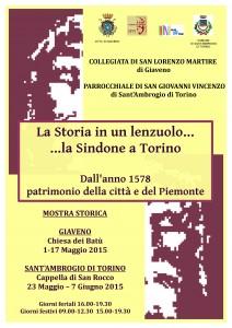 Manifesto mostra Sindone
