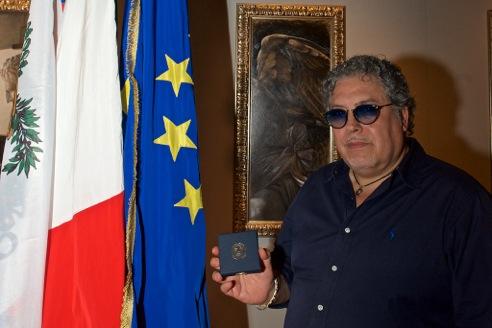 Medaglia del Presidente della Repubblica al Maestro Antonio Nunziante