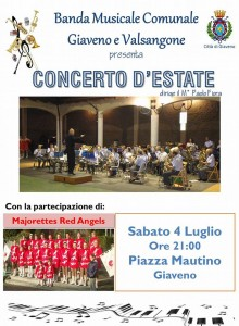 Concerto luglio Banda Comunale