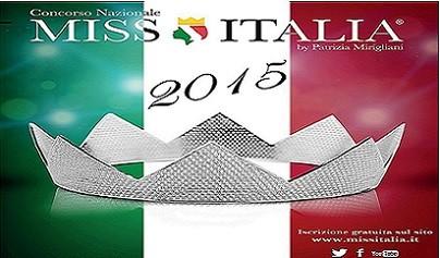 Concorso Nazionale  Miss Italia a Giaveno – sabato 1 agosto 2015