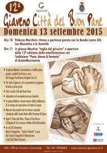 MANIFESTO PANE 2015