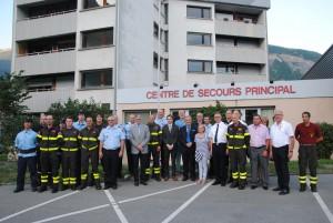 Incontro 20 anniversario gemellaggio Sapeurs Pompiers