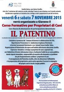 Manifesto Patentino  2015