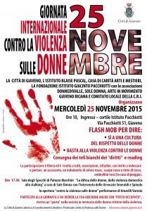 Locandina   25 novembre 2015 a Giaveno