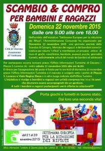 Locandina  Scambio e Compro nella settimana europea dei rifiuti2015def-1