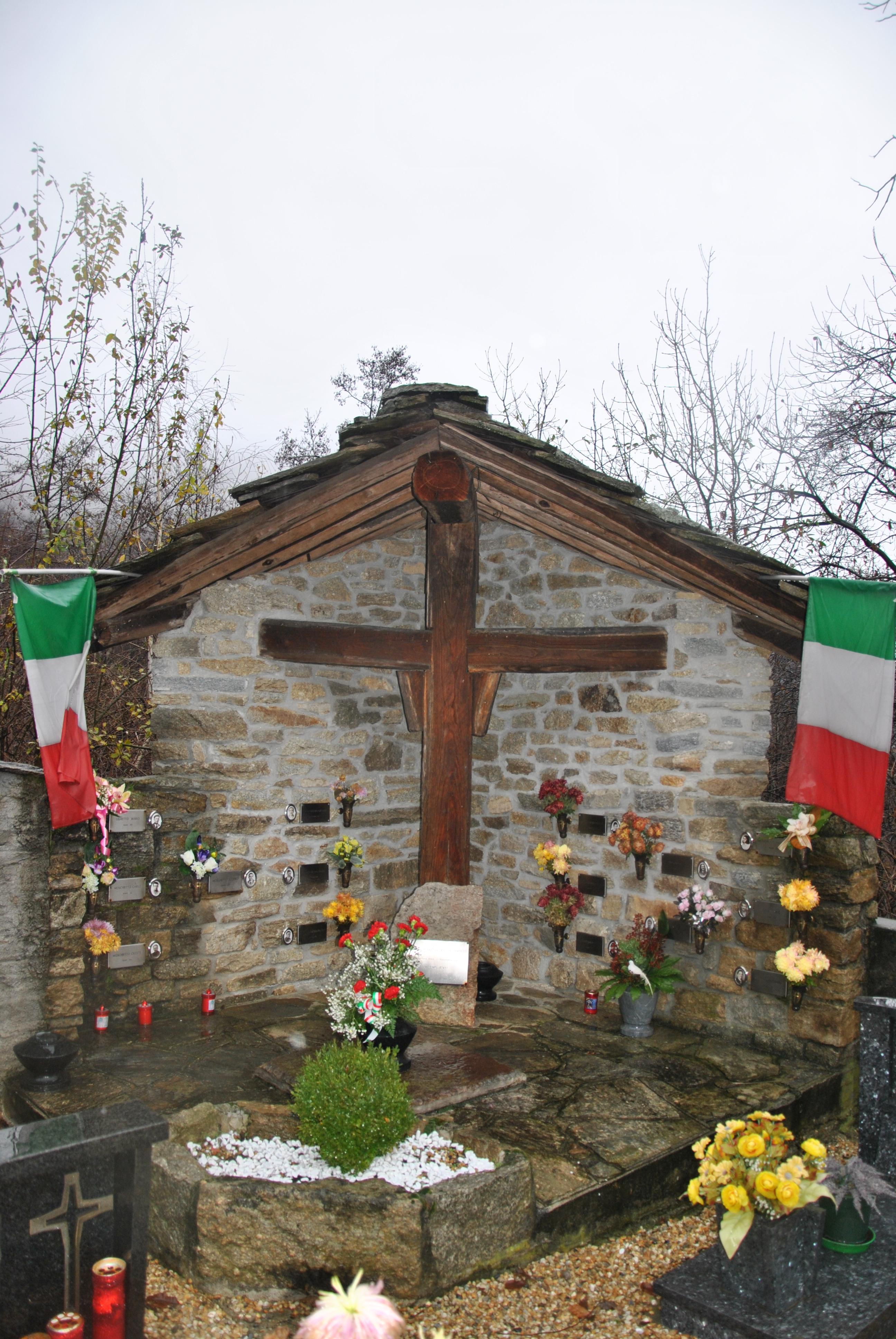 Commemorazione 71° Anniversario rastrellamento valle del Romarolo