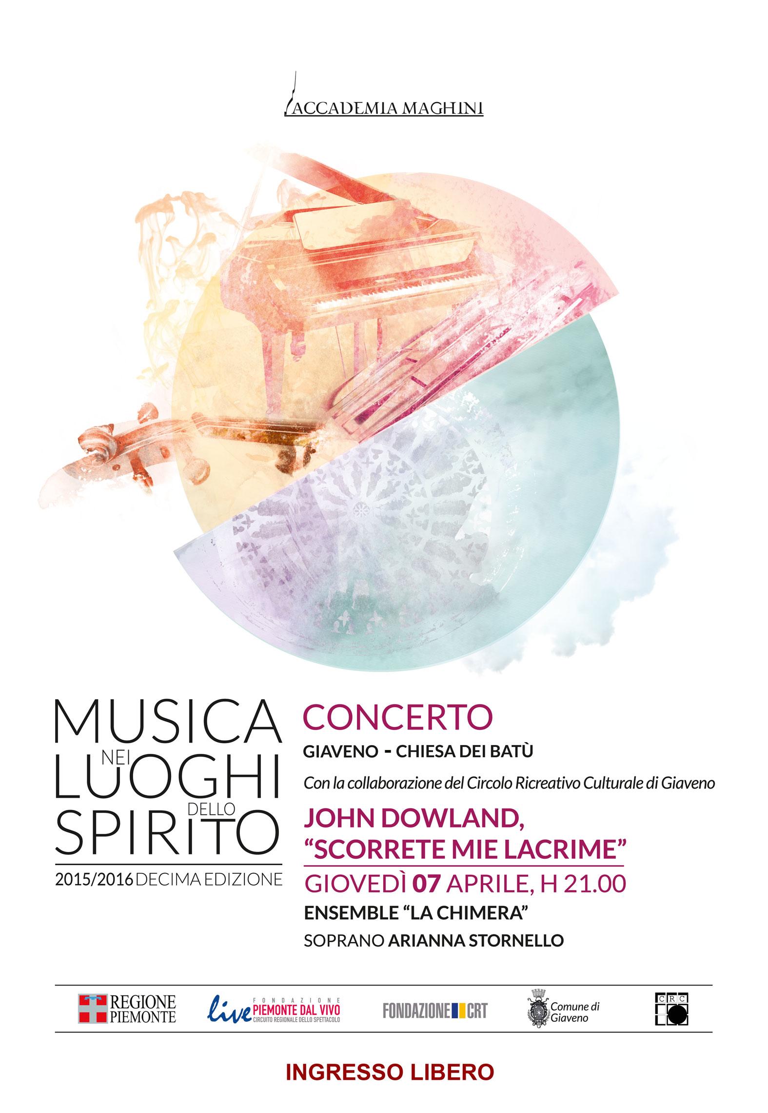 Musica nei Luoghi dello Spirito  – Concerto