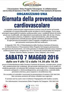 Prevenzione cardiovascolare Manifesto 7 maggio 2016