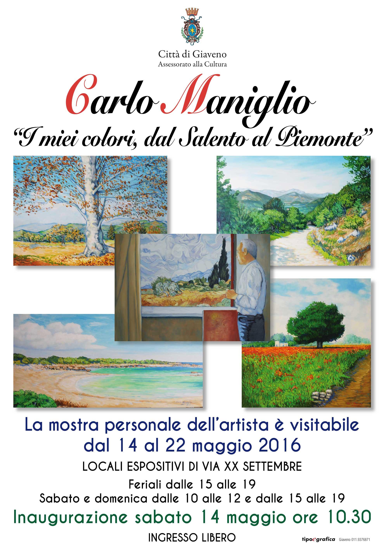 Carlo Maniglio, mostra personale