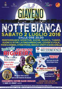 Manifesto Notte Bianca 2016