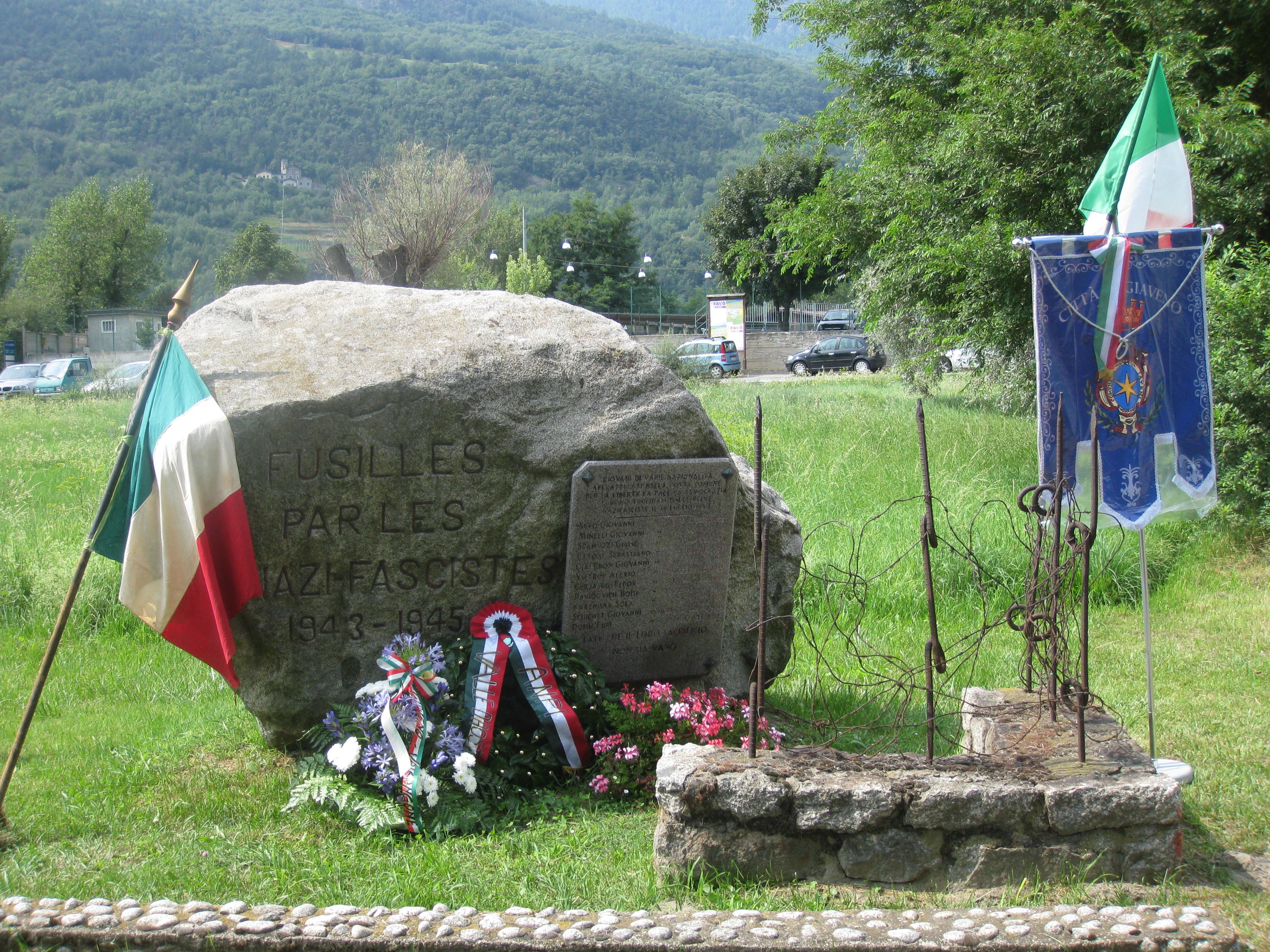 Commemorazione a Nus