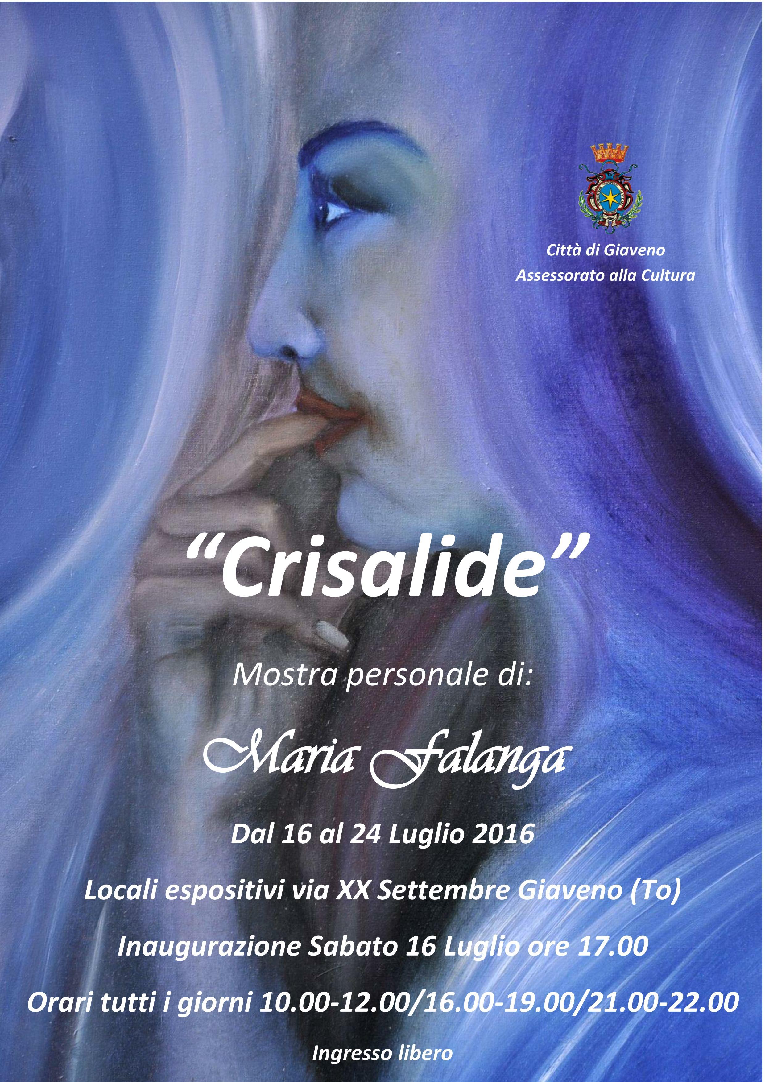 "Mostra personale di pittura ""Crisalide"" di Maria Falanga"