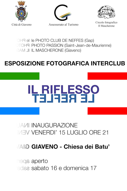 Esposizione fotografica interclub  Il Riflesso dal 15 al 17 luglio 2016