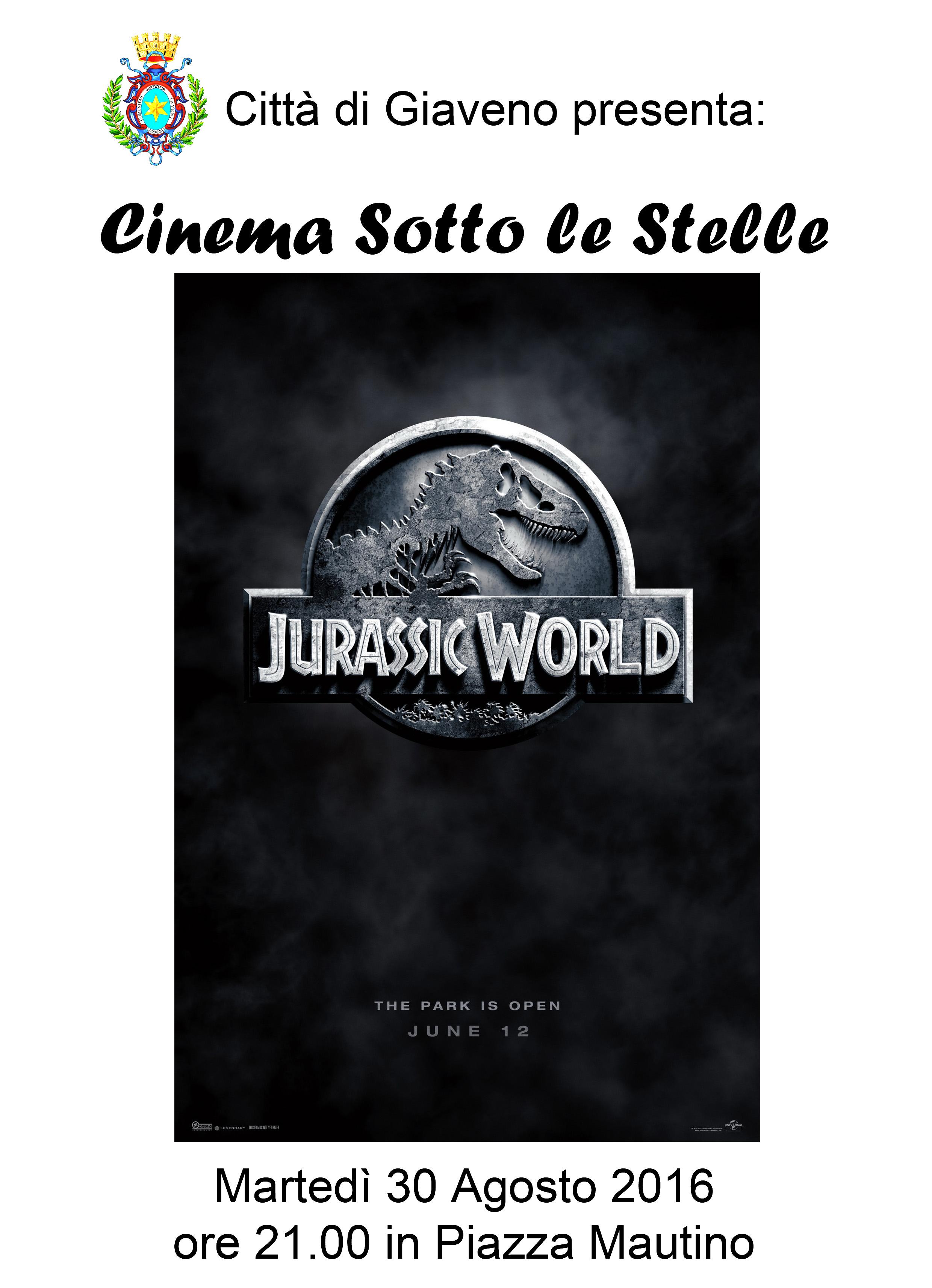Cinema sotto le Stelle – Ultimo Appuntamento Martedì 30 agosto 2016
