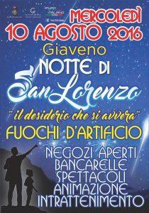 Notte San Lorenzo 2016