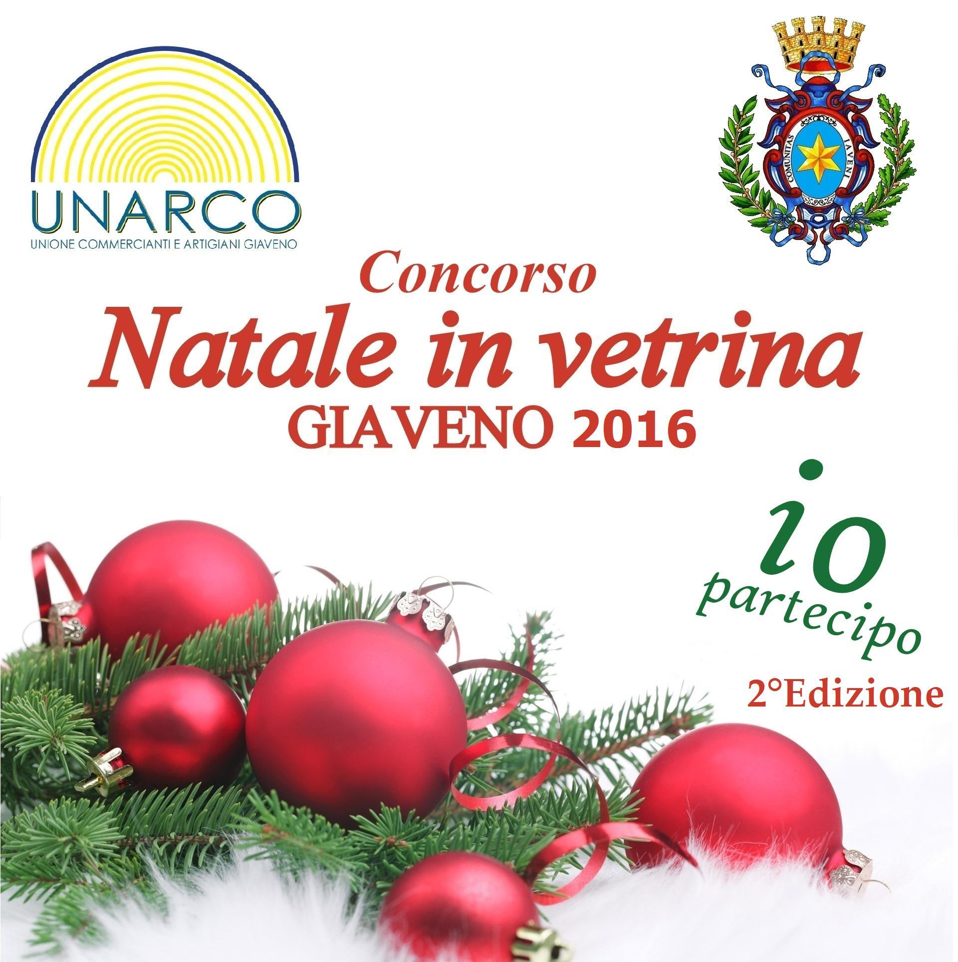 """Seconda edizione del concorso """"Natale in Vetrina"""""""