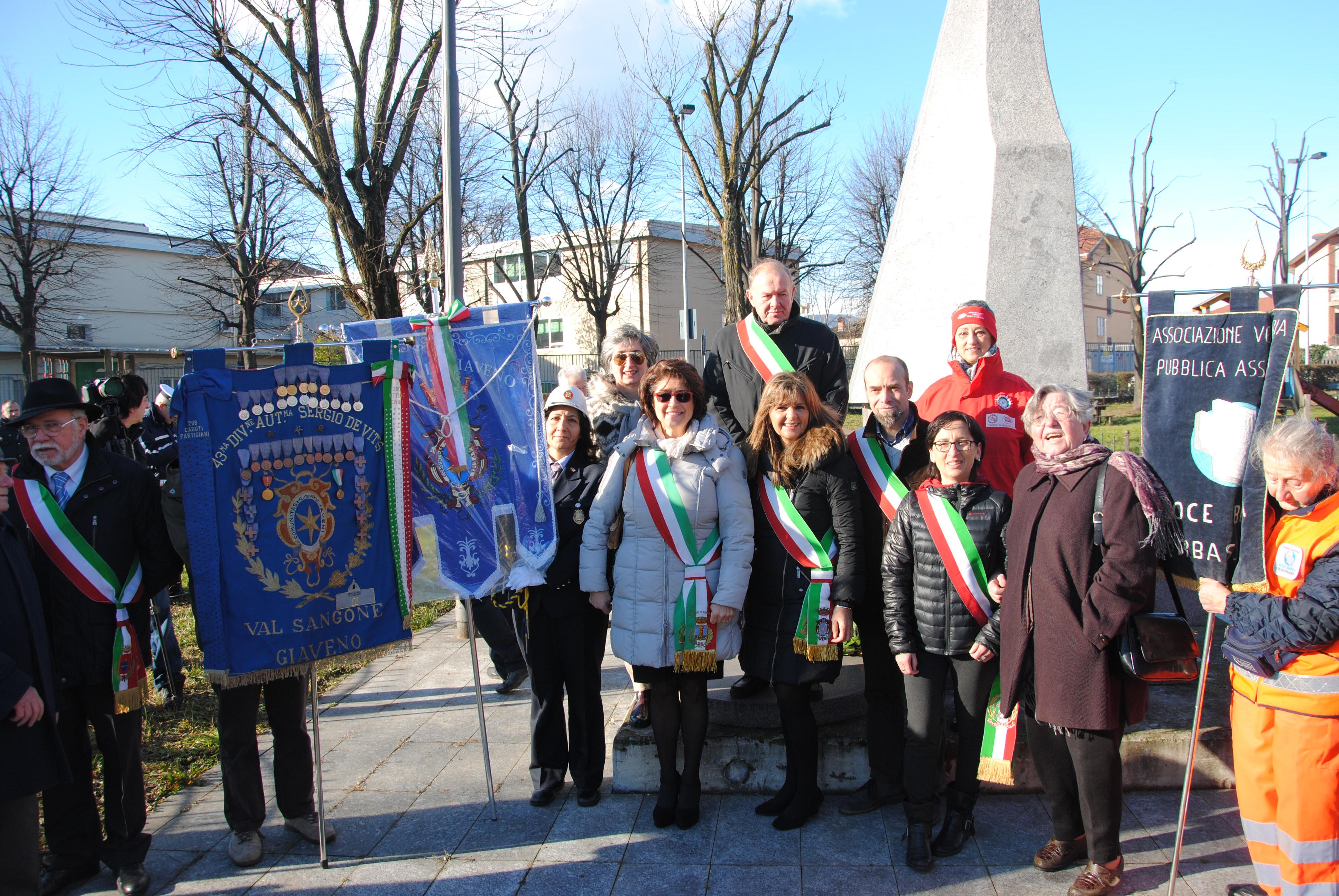 """Orbassano """" Commemorazione Vittime Mitragliamento del trenino Torino – Giaveno"""" domenica 15 gennaio 2017"""