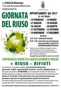 GIORNATE DEL RIUSO ANNO 2017-01