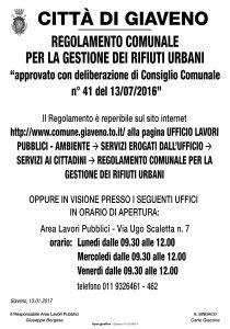 REGOLAMENTO GESTIONE RIFIUTI URBANI-01