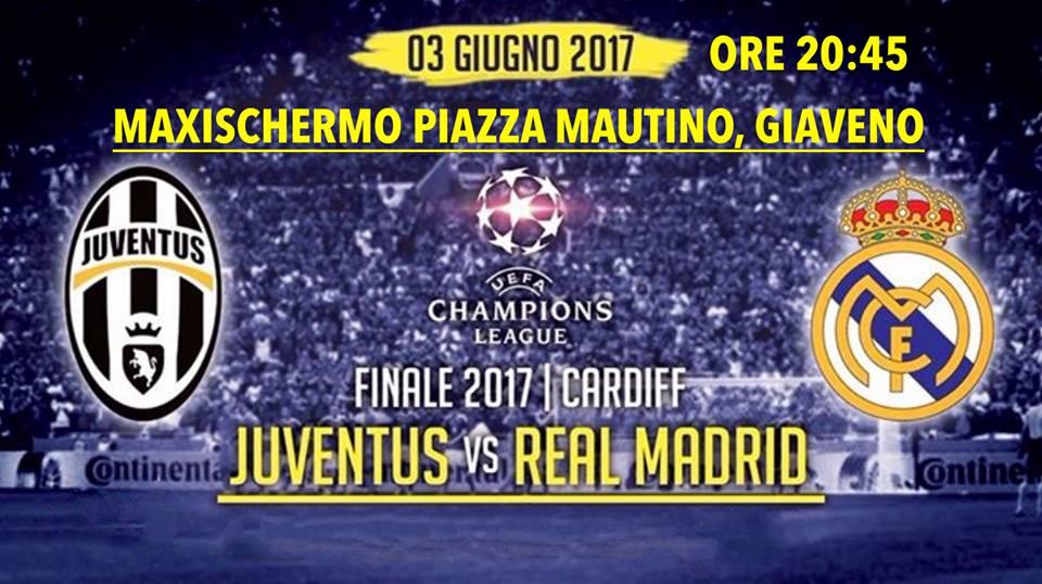 Finale di Champions League sabato 3 giugno 2017