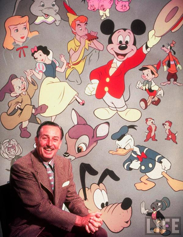 Walt Disney. Un uomo e il suo sogno  – conferenza  giovedì 3 agosto 2017