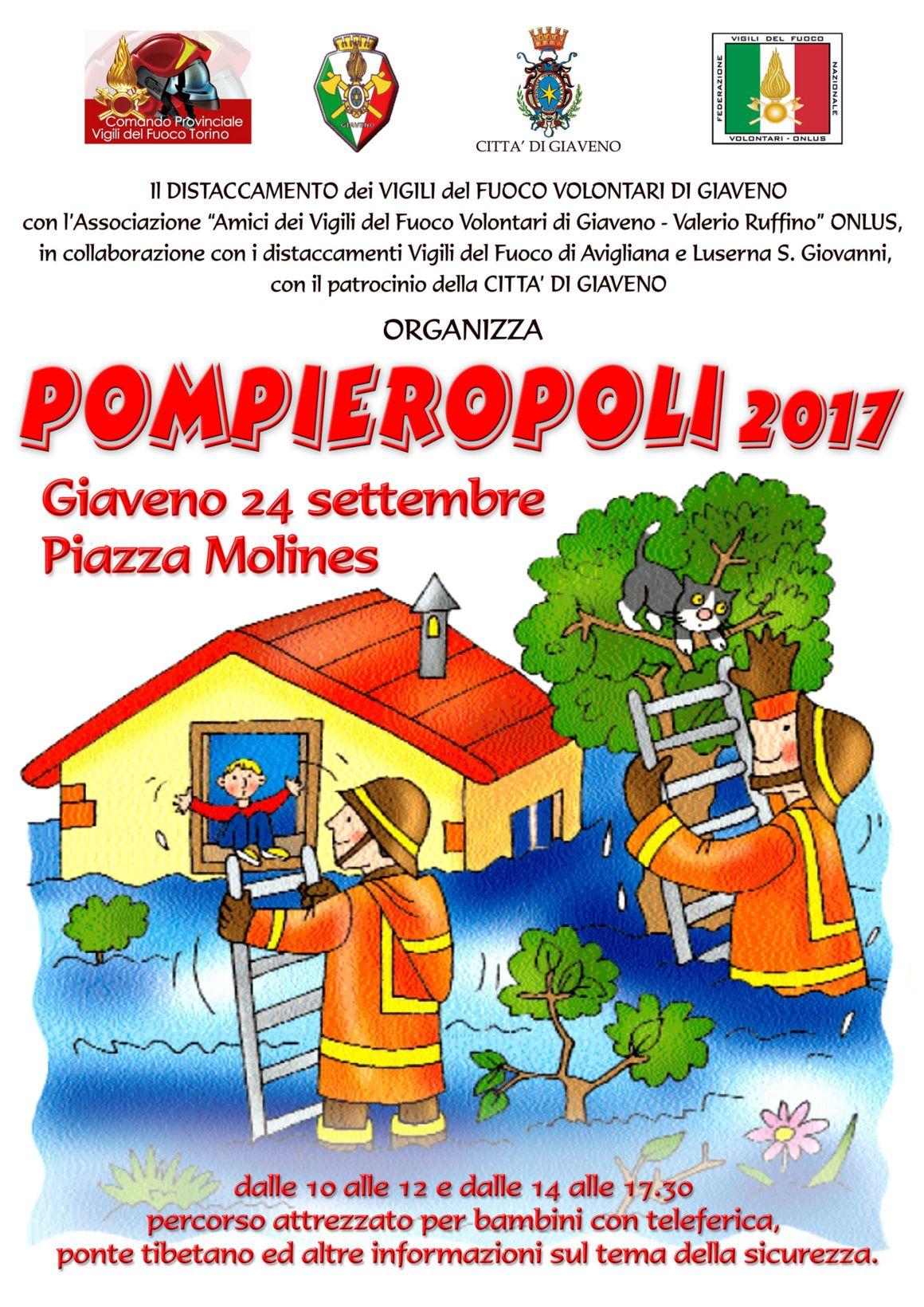 POMPIEROPOLI 2017  – domenica 24 settembre 2017