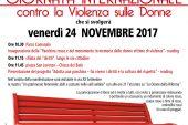 Giornata Internazionale contro la Violenza sulle donne nov 2017