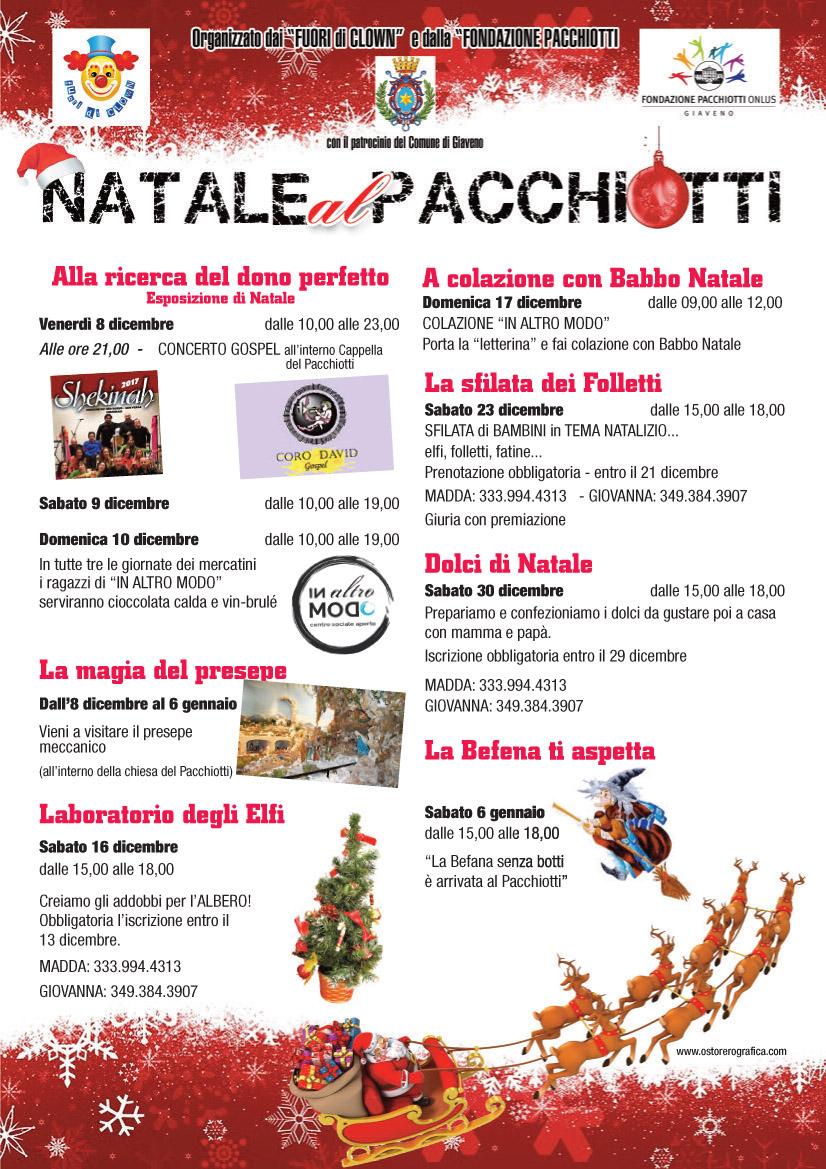 Natale al Pacchiotti