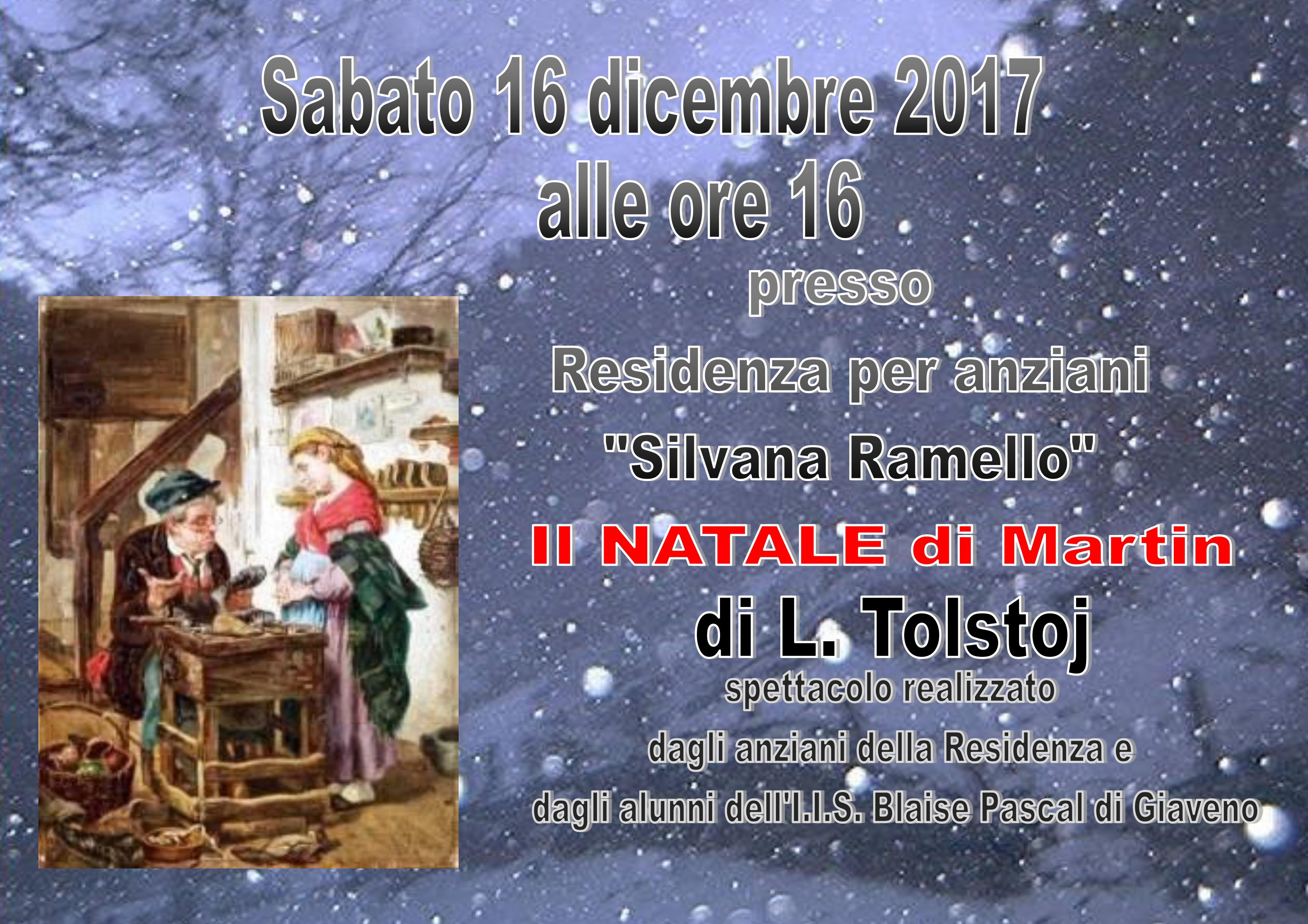 "NATALE 2017 IN CASA ""SILVANA RAMELLO"""