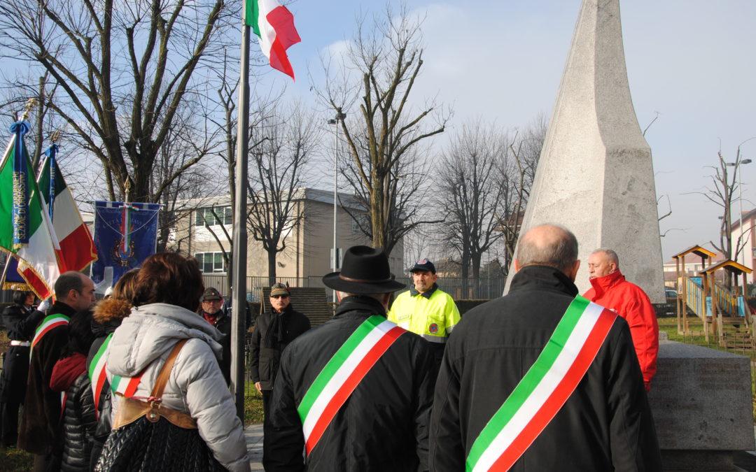 Commemorazione vittime del mitragliamento del trenino ad Orbassano