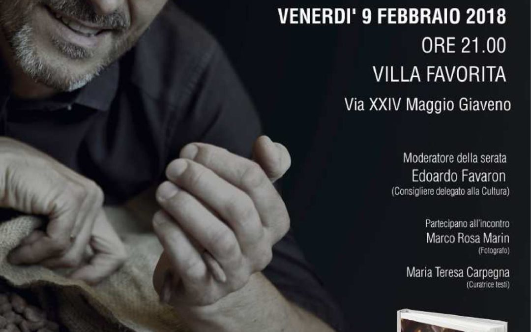 """Presentazione del libro """"Il mio cioccolato"""" di Guido Castagna"""