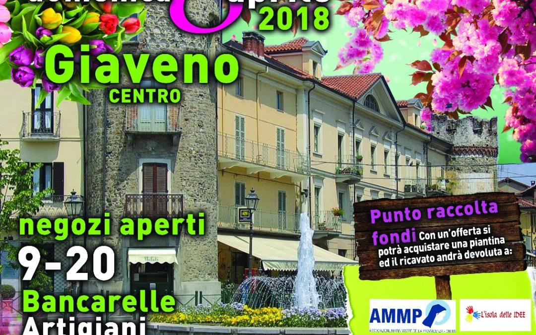 Un fiore a Giaveno – domenica 8 aprile 2018