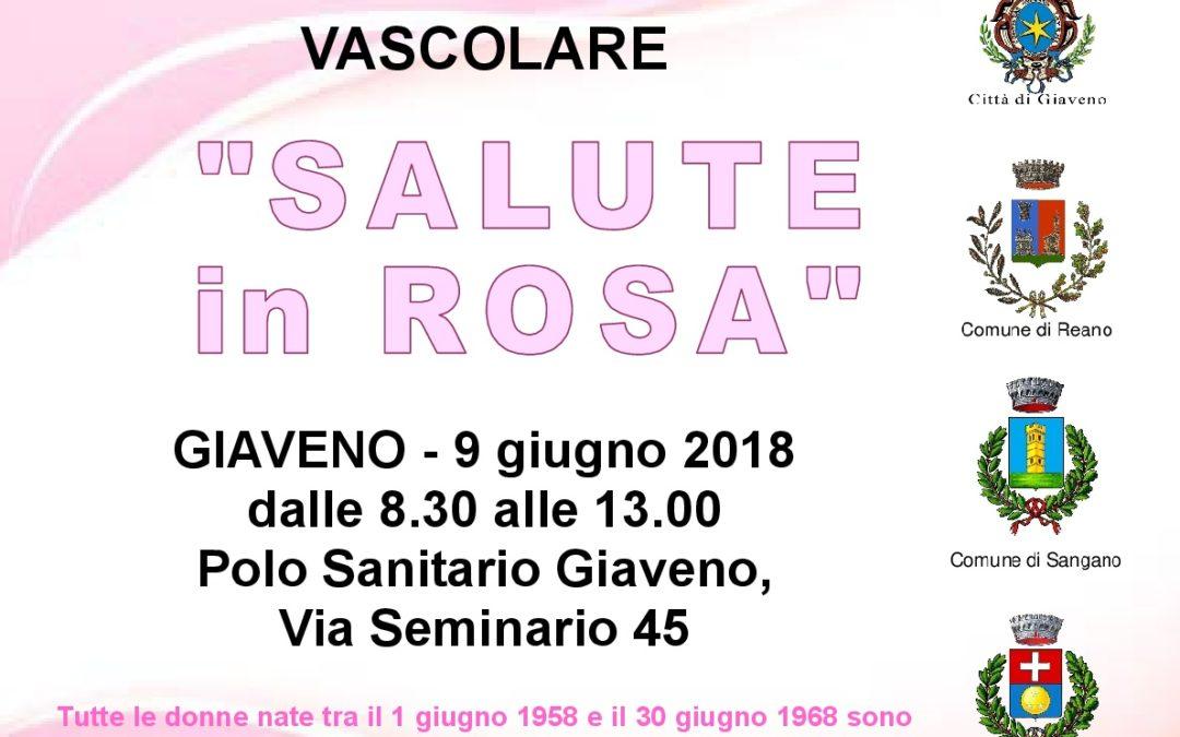 Salute in Rosa – Giaveno sabato 9 giugno 2018