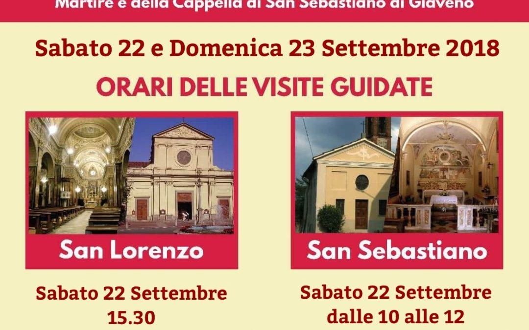 Città e Cattedrali  a Porte Aperte  – sabato 22 e domenica 23 settembre 2018
