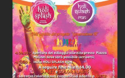 Holi Splash Run – 30 settembre
