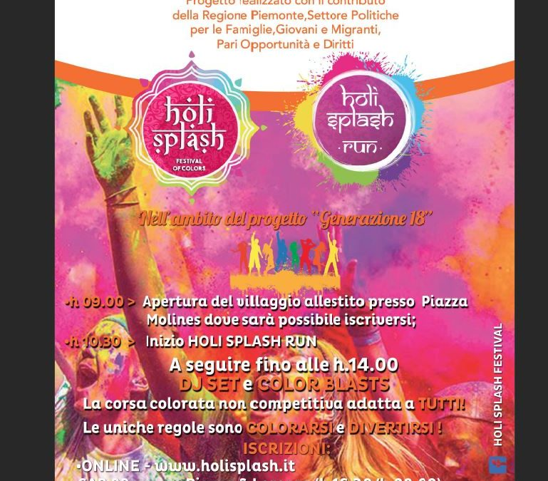 Holi Splash Run – 30 settembre