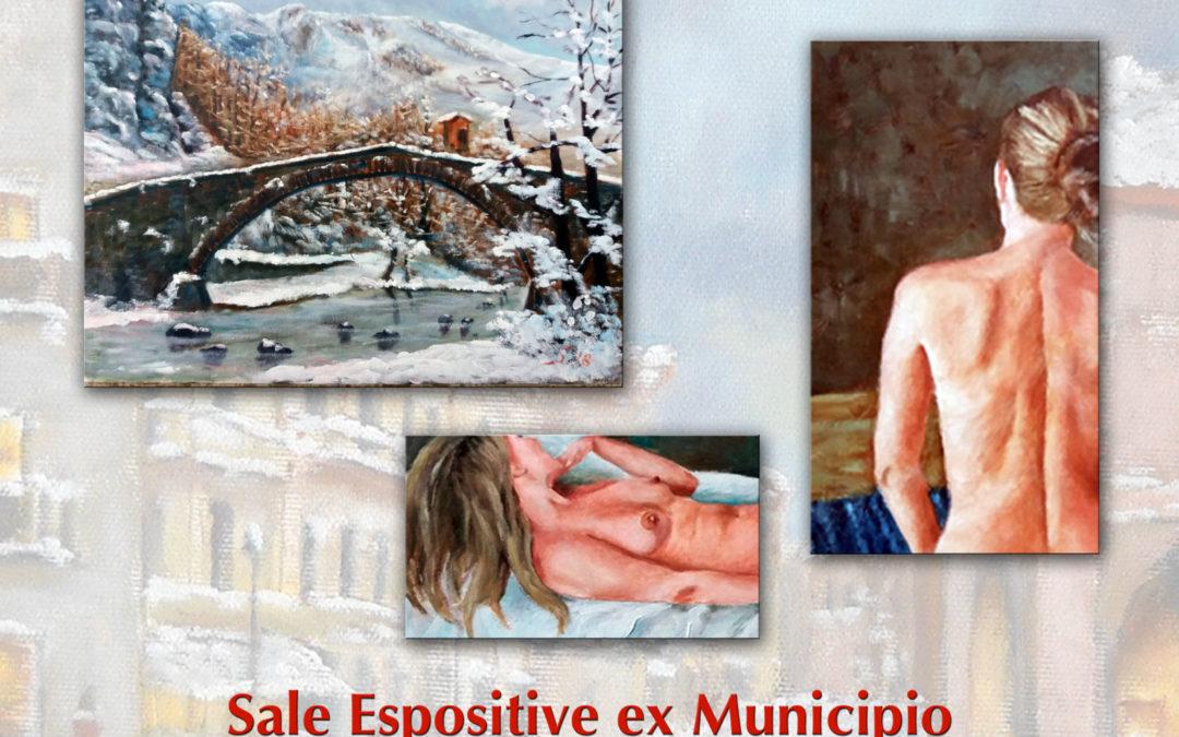 Nudi  – Neve e non solo Sabino 84 – mostra di pittura di Sabino Gentile