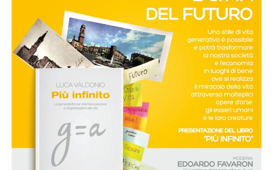 """Presentazione del libro """"Più infinito"""" di Luca Valdonio – venerdì 8 febbraio 2019"""