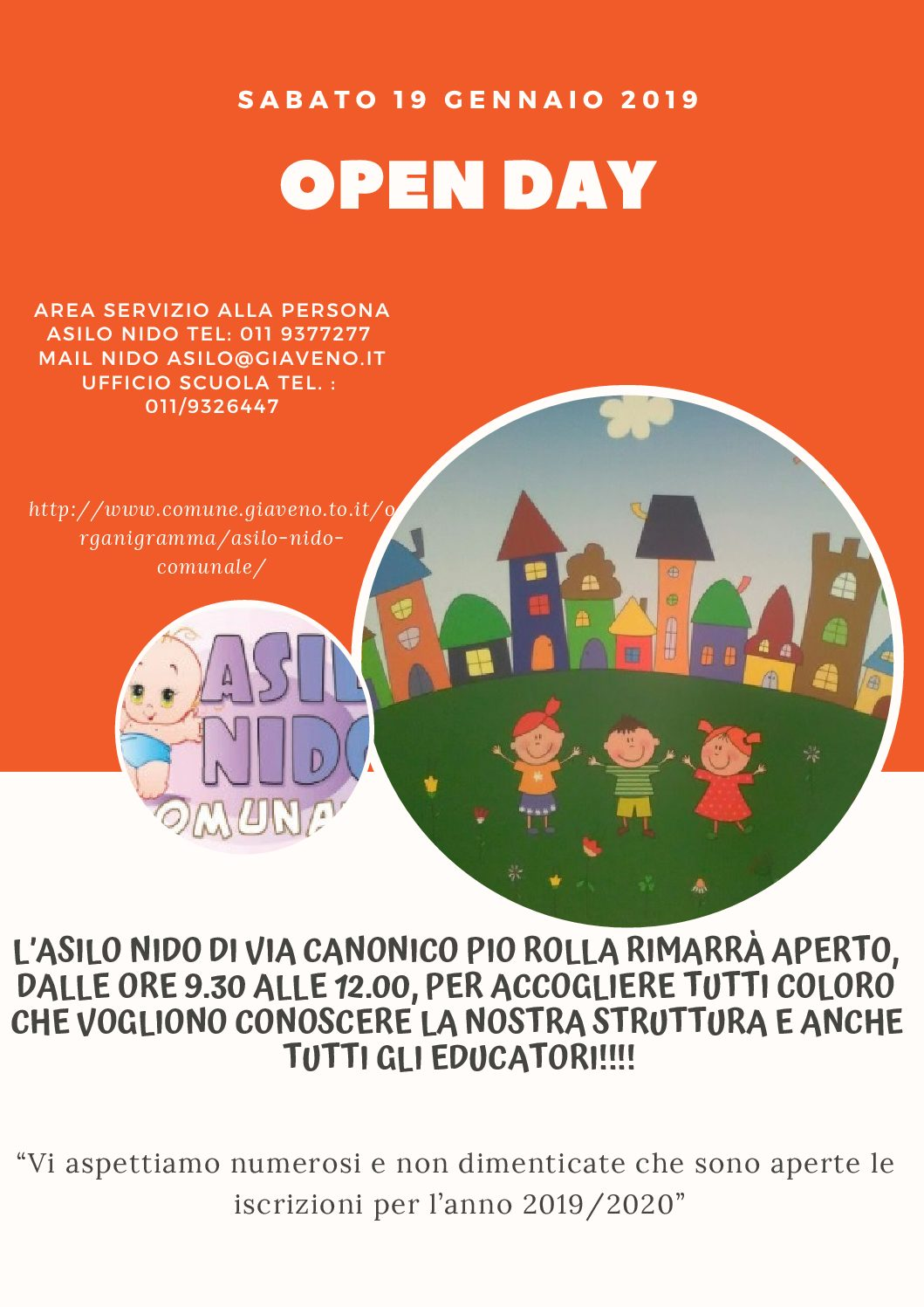 OPEN DAY ASILO NIDO CAN. PIO ROLLA