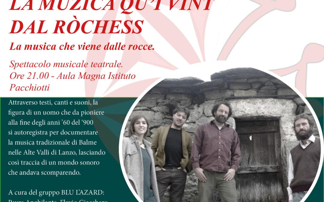 Chantar l'Uvern –  Spettacolo Musicale  – Venerdì 22 marzo 2019
