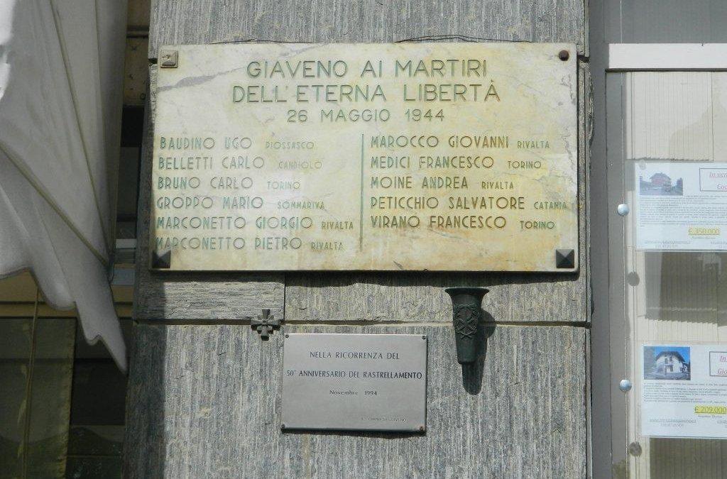 Momenti Commemorativi  in ricordo dei Martiri del 26 Maggio 1944 –   Cerimonie  di sabato 25 maggio 2019