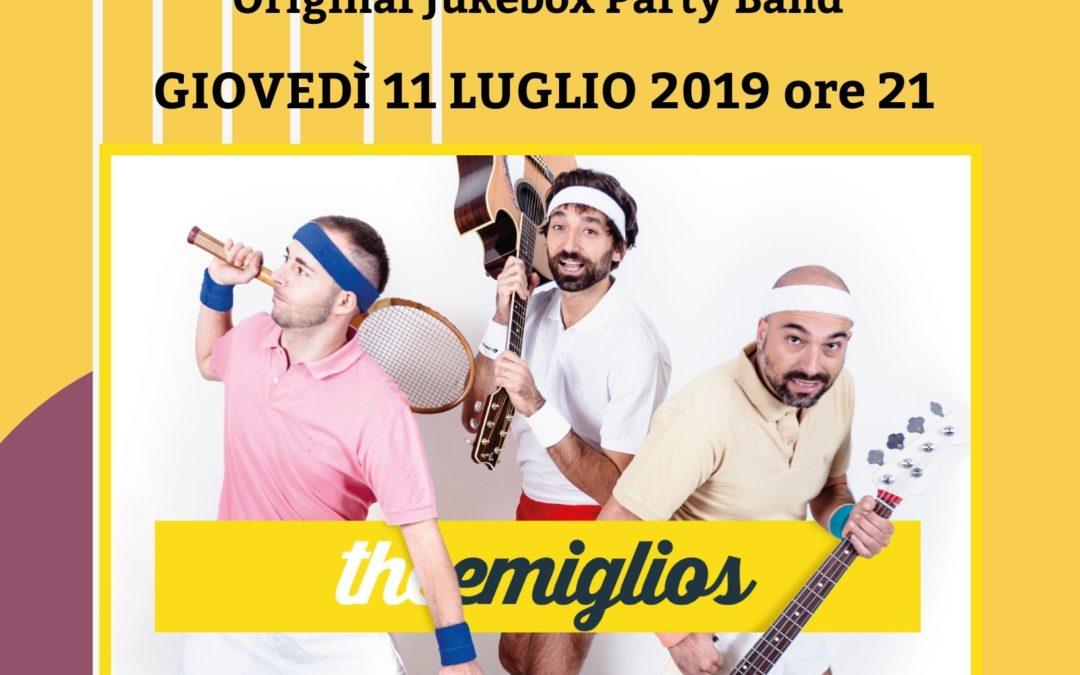 The Emiglios in Concerto – Giovedì 11 luglio 2019