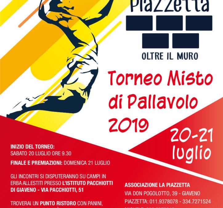 Torneo misto di pallavolo 2019 – 20 e 21 luglio 2019