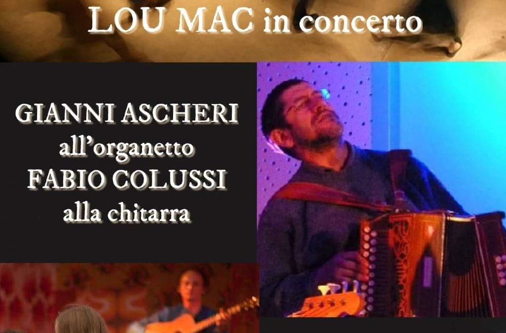 BAL FOLK  con musica franco occitana – Lou Mac in concerto – Giovedì 18 luglio 2019