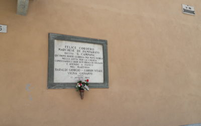 Commemorazione dei martiri della Liberazione del 17 agosto 1944