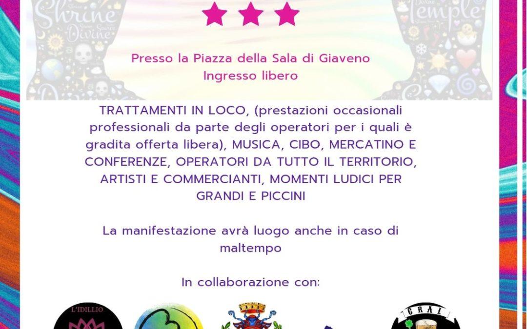 """1° Festival Olistico a Giaveno """"Il Sentiero del Ben-Essere"""" sabato 7 settembre 2019"""