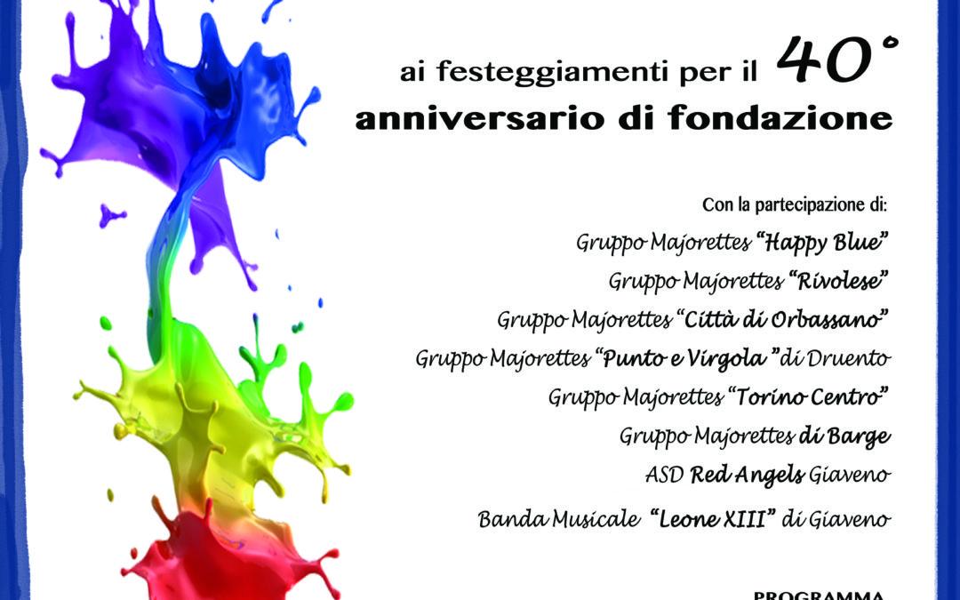 """40° Anniversario di Fondazione del Gruppo """"Les Mascottes"""" – Domenica 15 settembre 2019"""